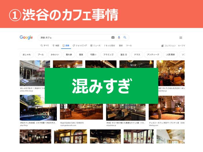 ①渋谷のカフェ事情