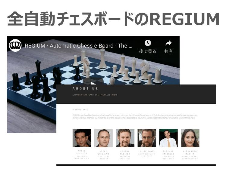 全自動チェスボードのREGIUM