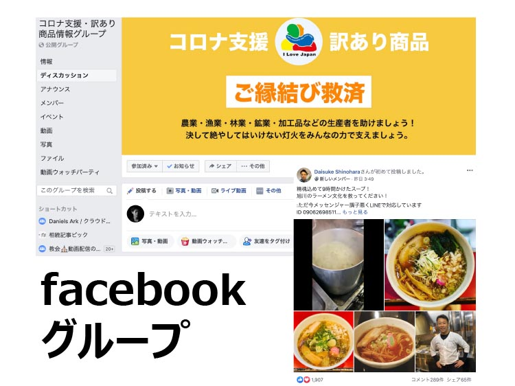 facebookグループ
